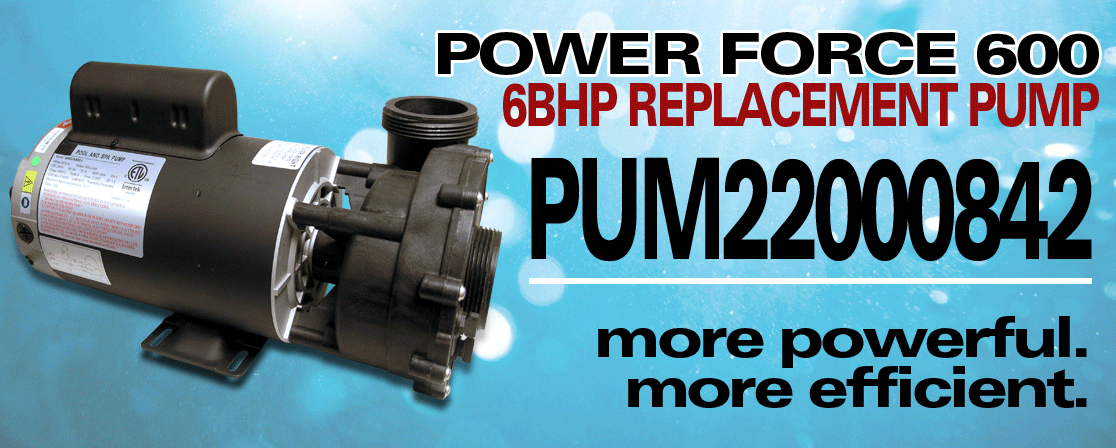 6HP Replacement Pump