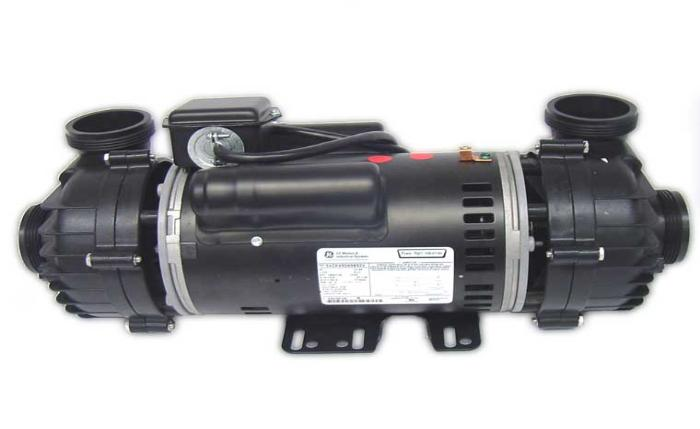 Spa pump 4 hp 2 speed 56 frame dually 230 volts 60 hz for Cal spa dually pump motor