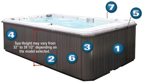 hot tubs for jacuzzi tub outdoor parts spas