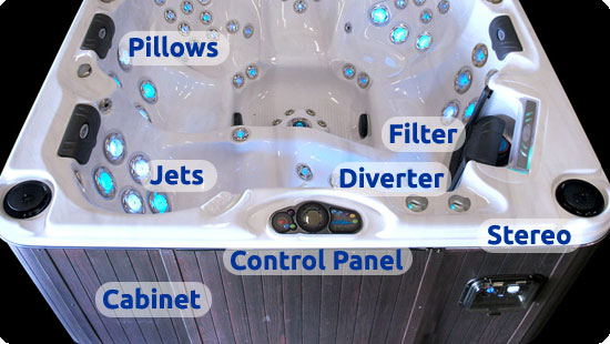 Cal Spas Hot Tub Parts